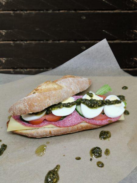 Broodje gezond italiaans